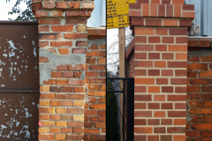 Ziegel - Mauer